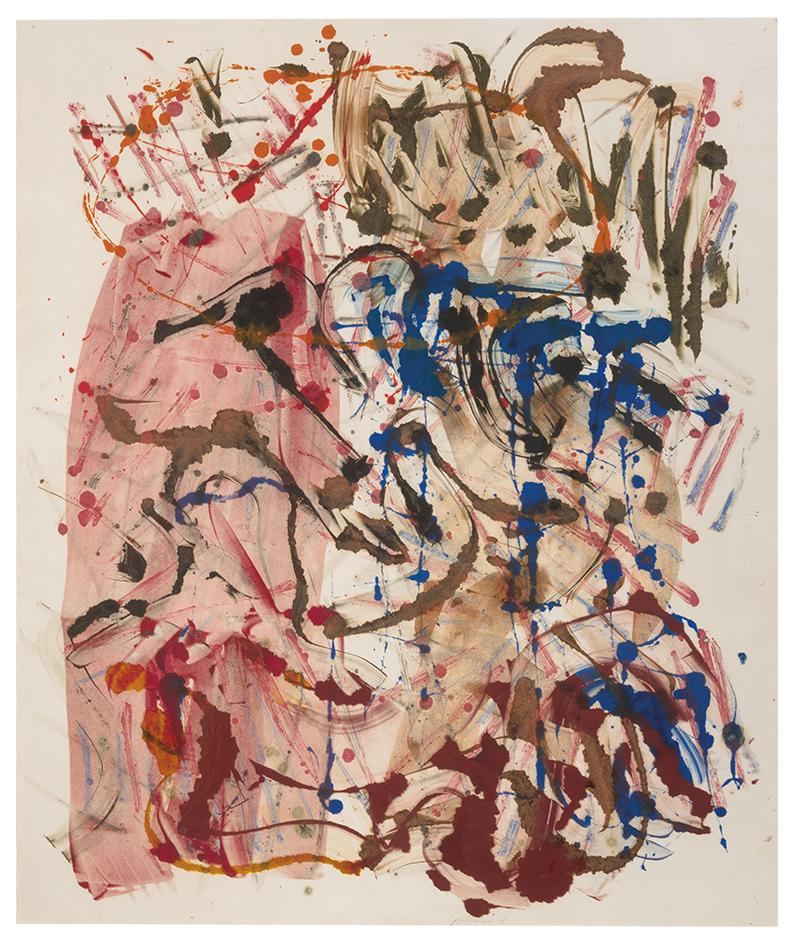 Michael Goldberg-Untitled-1988