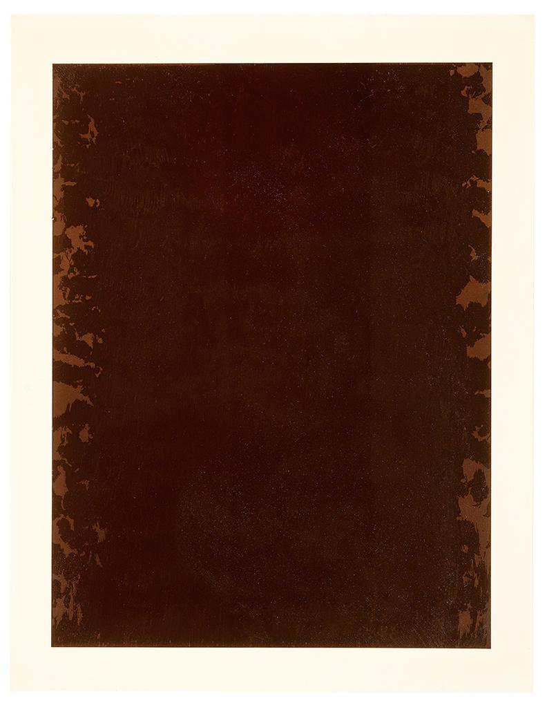 Joseph Marioni-Opus 17: Umber Meditation First Performance/10 (4)-1972