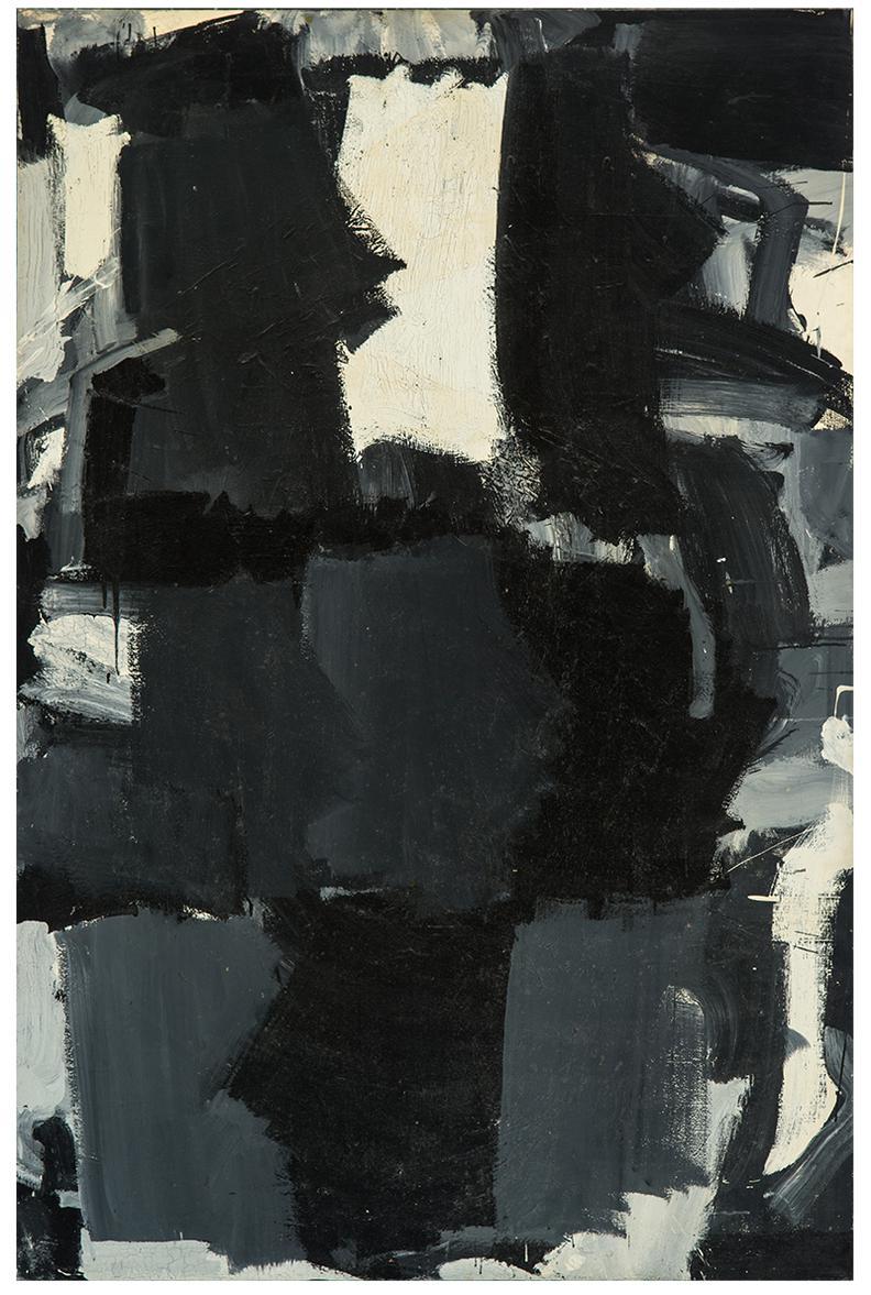 Joseph Marioni-Opus 2: 3-6-9 They All Drank Wine-1965
