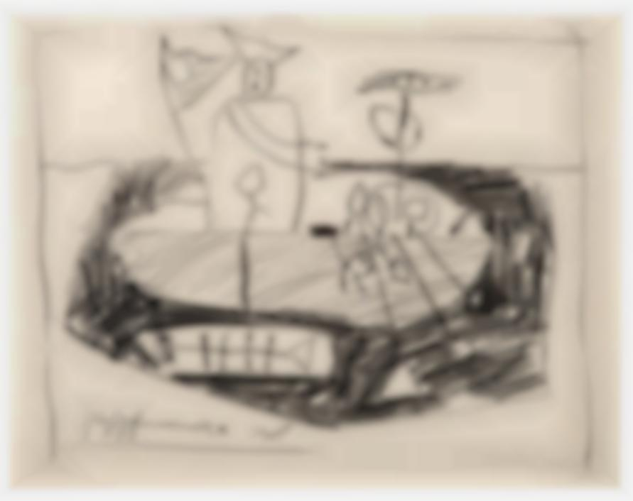 Roy Lichtenstein-Washington Crossing The Delaware-1951