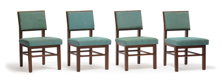 Frank Lloyd Wright-Dining Chairs (10)-1955