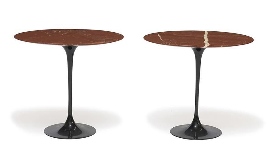 Eero Saarinen - Tulip Side Tables (2)-1957