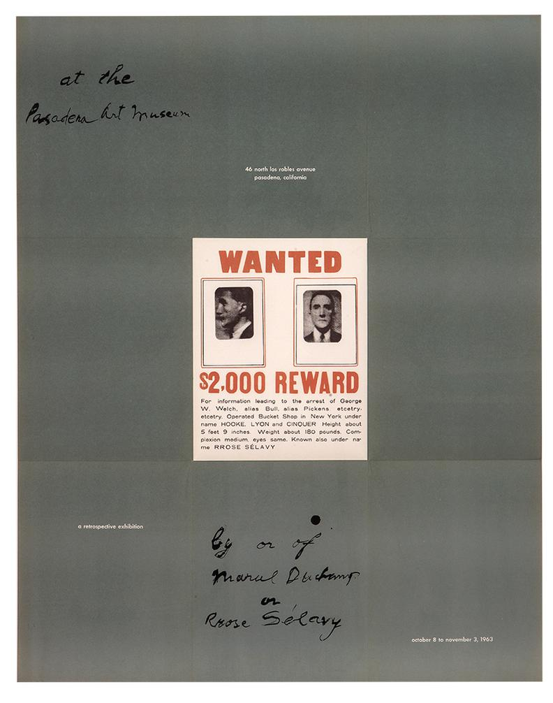 Marcel Duchamp-A Poster Within A Poster-1963