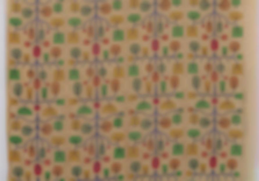 Alexander Girard - Fruit Tree Fabric-1961