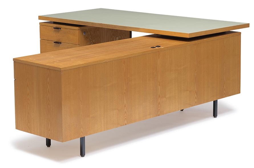 George Nelson - Executive Desk With Return-1956