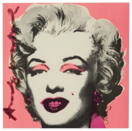 Andy Warhol-Marilyn (Castelli Graphics Invitation)-1981