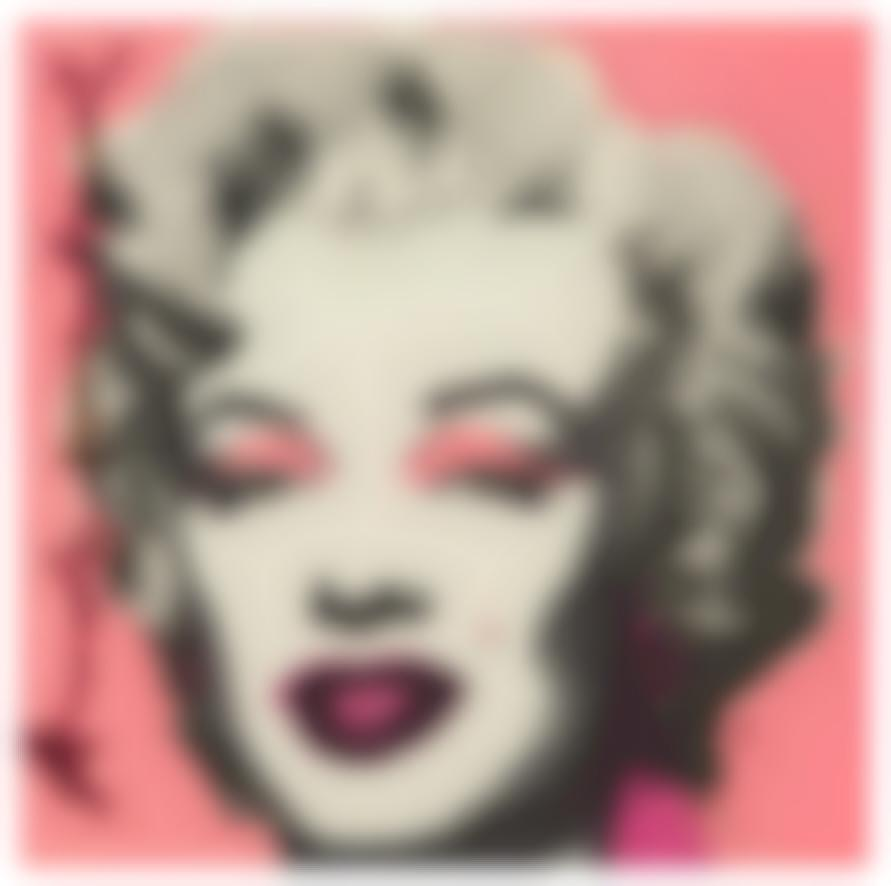 Andy Warhol-Marilyn (Castelli Graphics Invitation)-1981
