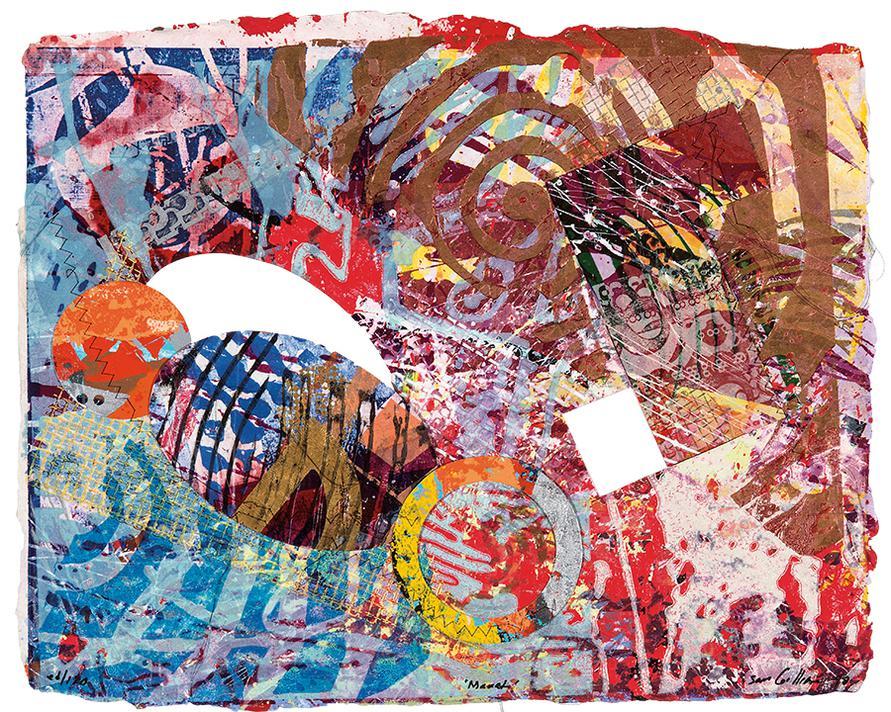 Sam Gilliam-Manet-1998