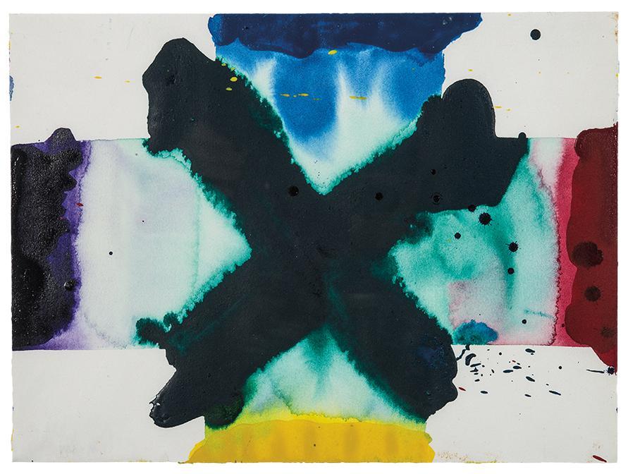 Sam Francis-Untitled (SF79-265)-1979