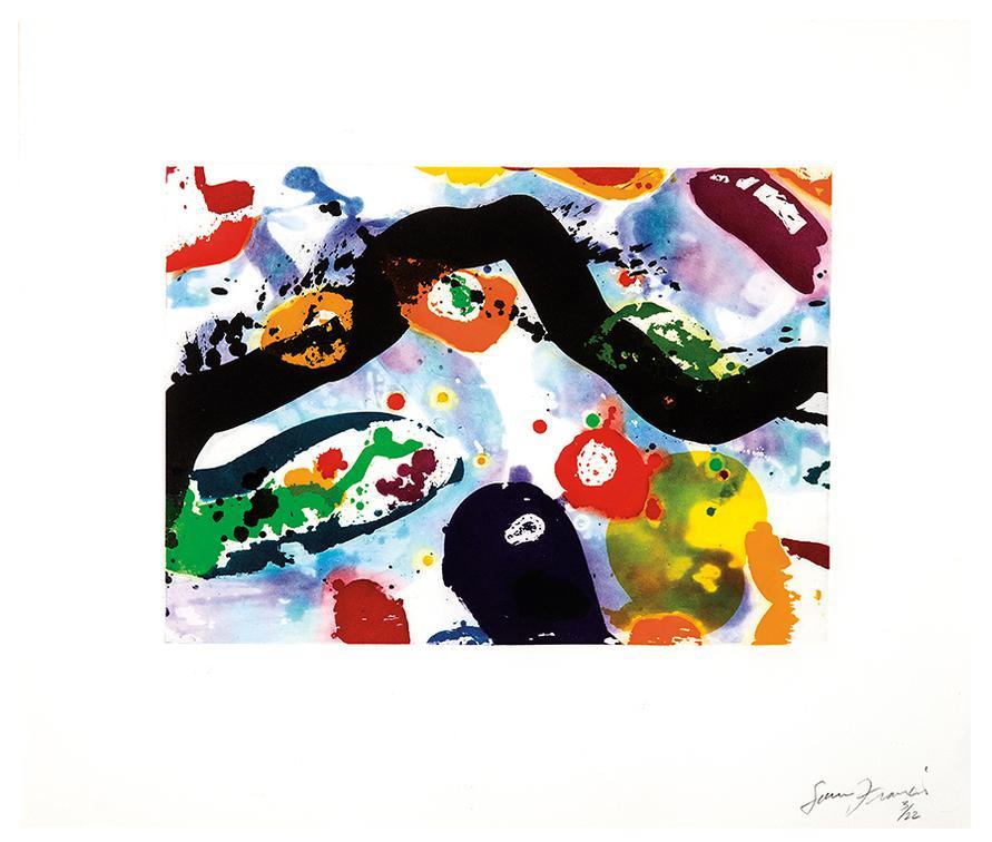 Sam Francis-Untitled (Sfe-112)-1994