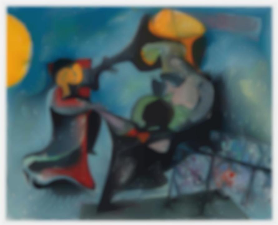 Hans Burkhardt-Untitled-1965