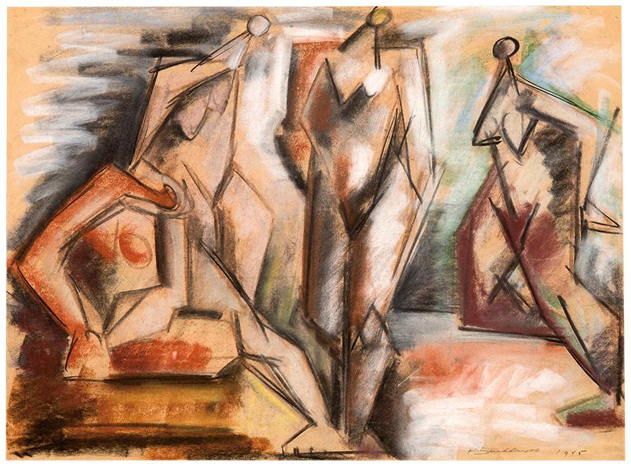 Hans Burkhardt-Untitled-1945