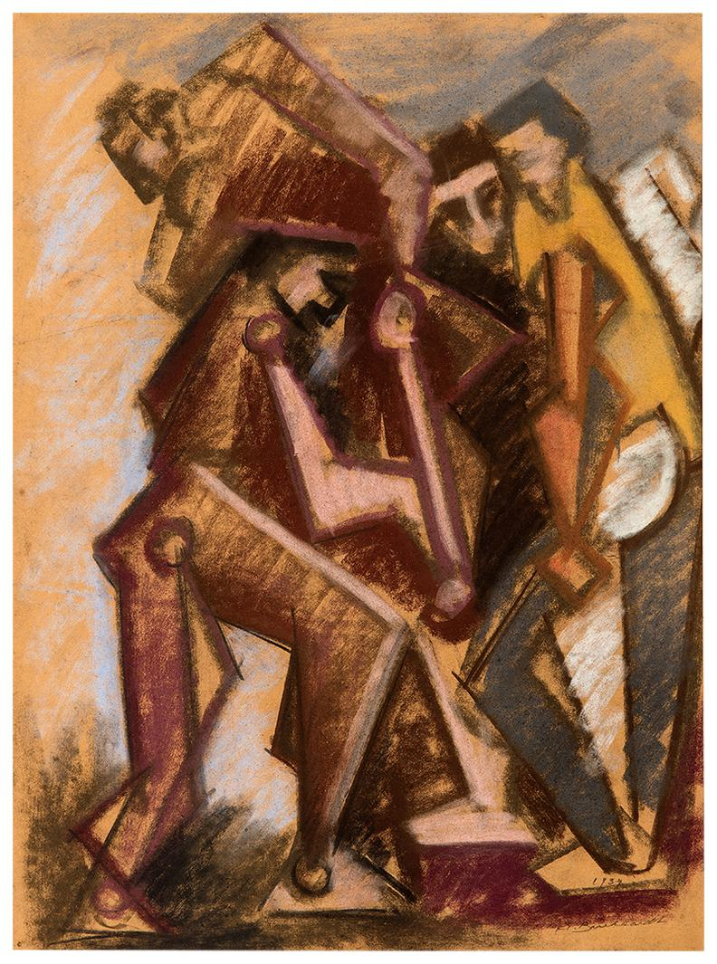 Hans Burkhardt-Untitled-1937