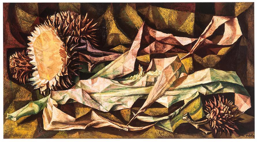 Francis De Erdely - Sunflowers-1954
