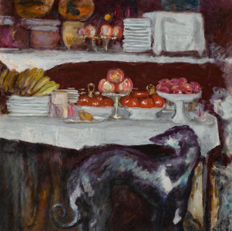 Pierre Bonnard-Nature Morte A La Levrette-1923