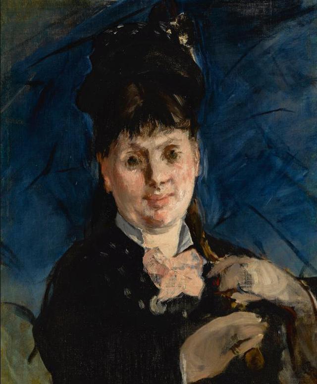 Edouard Manet-La Femme A Lombrelle-1872