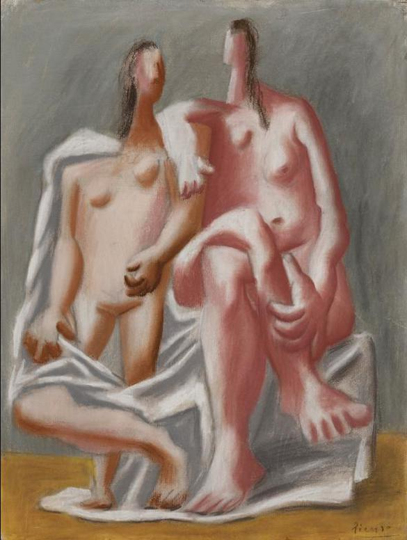 Pablo Picasso-Deux Nus-1920
