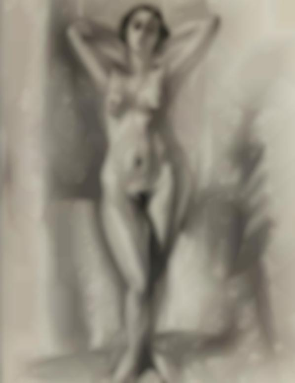 Henri Matisse-Nu Debout Aux Bras Leves-1922
