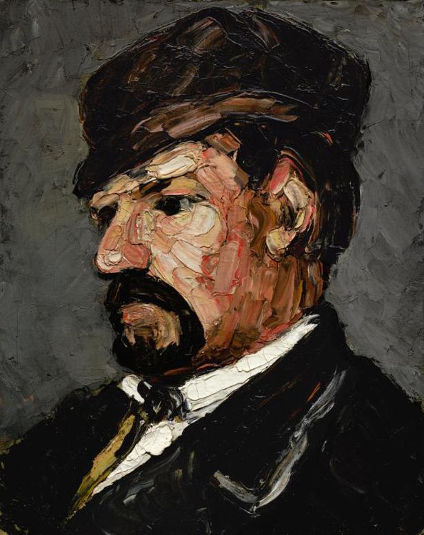 Paul Cezanne-Loncle Dominique En Casquette-1867