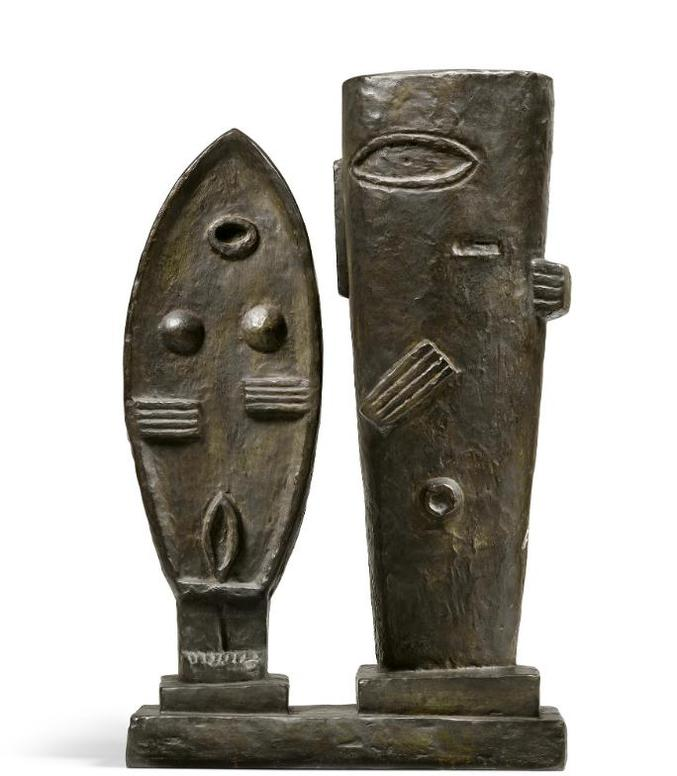 Alberto Giacometti-Le Couple (Homme Et Femme)-1979