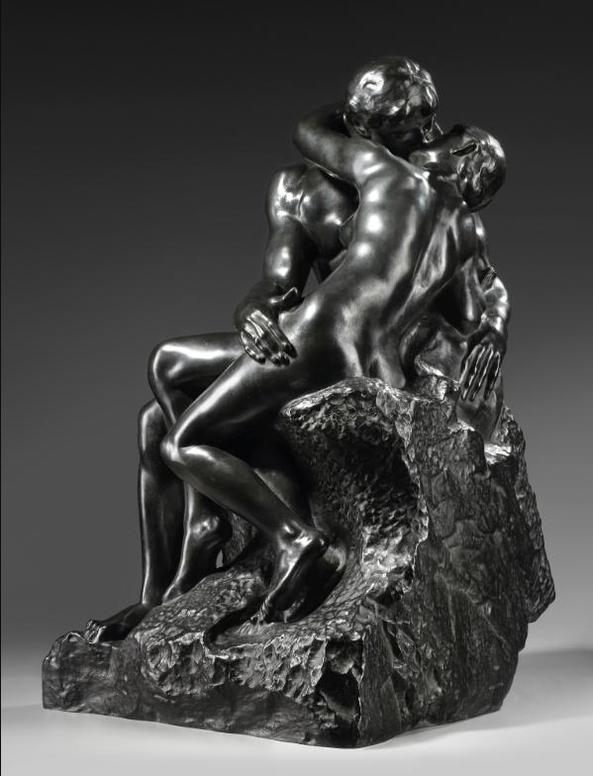 Auguste Rodin-Baiser, 1Ere Reduction Dite Aussi No. I-1886