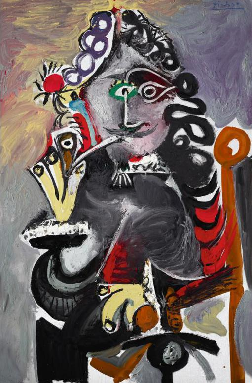 Pablo Picasso-Mousquetaire A La Pipe-1968