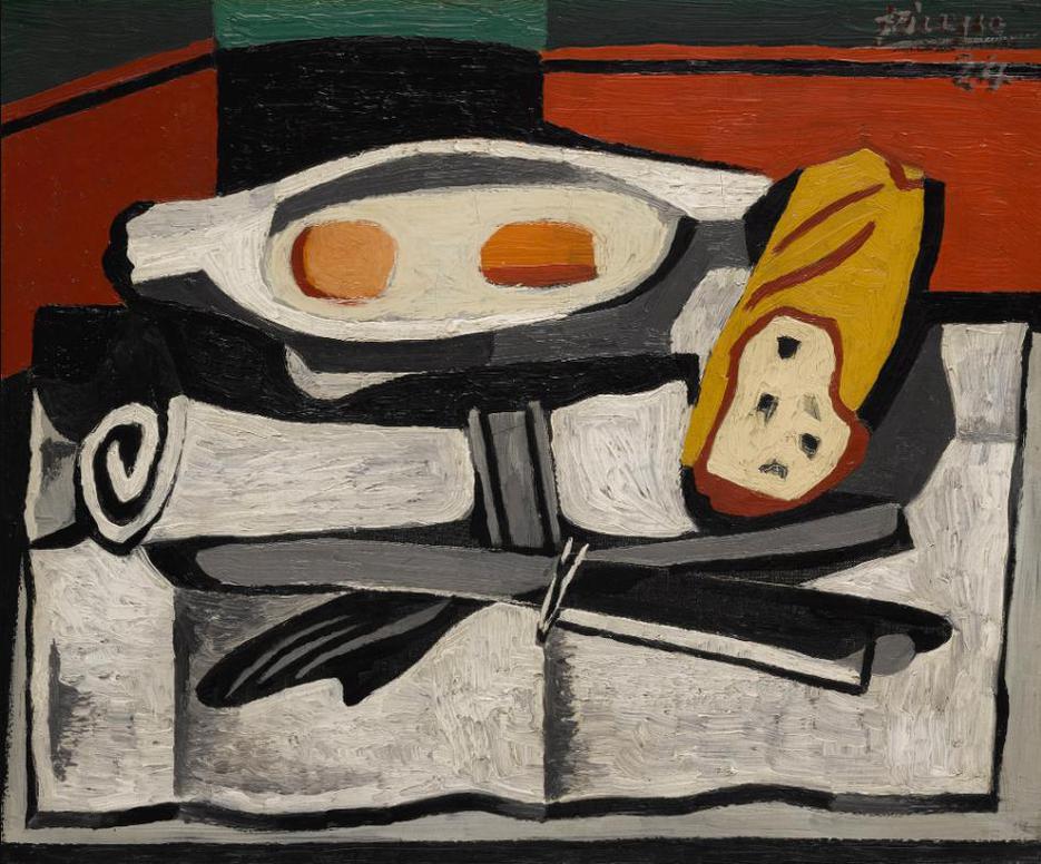 Pablo Picasso-Oeufs, Serviette Roulee, Courverts-1924