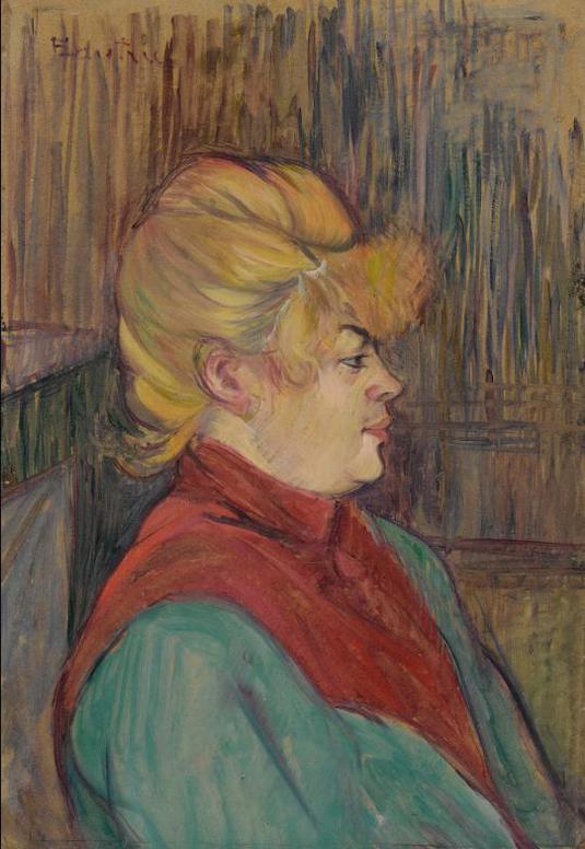 Henri de Toulouse-Lautrec-Femme De Maison-1894