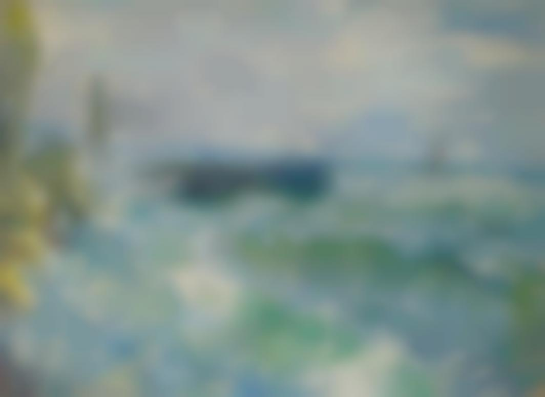 Claude Monet-La Jetee De Fecamp Par Gros Temps-1881
