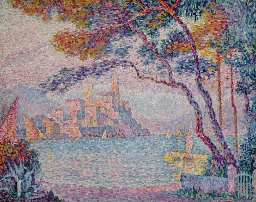 Paul Signac-Antibes. Soir-1903