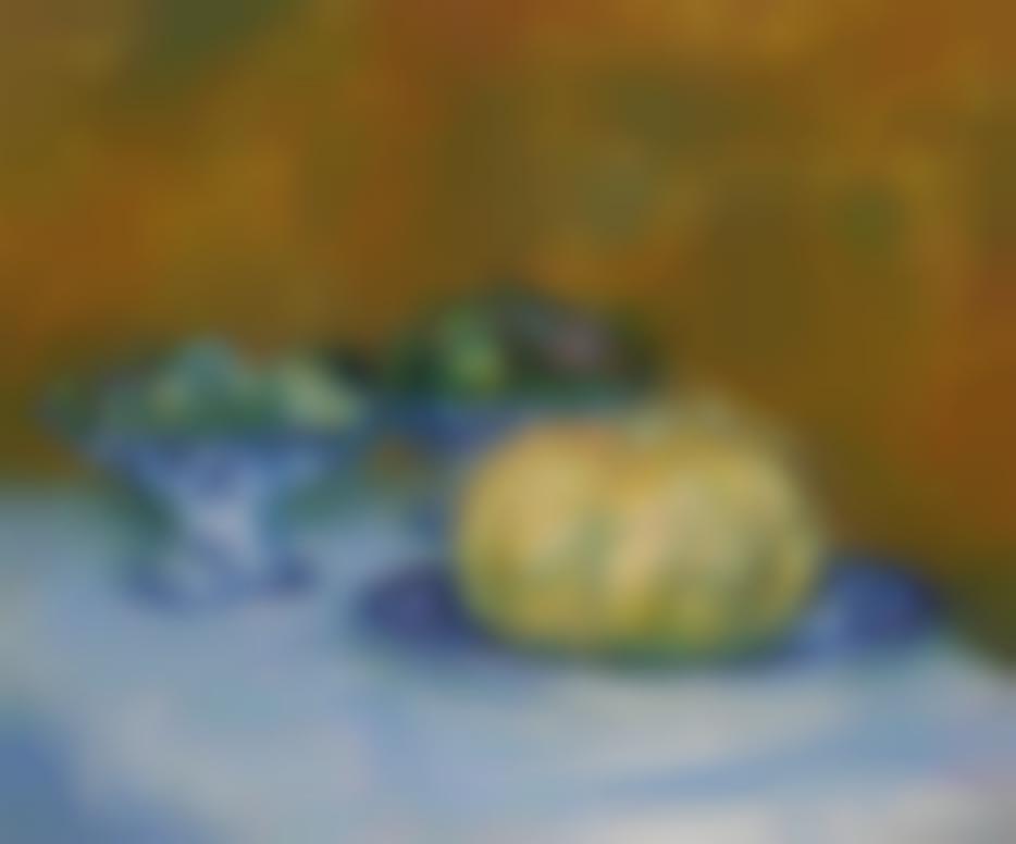 Pierre-Auguste Renoir-Nature Morte Au Melon, Amandes Et Figues-1882