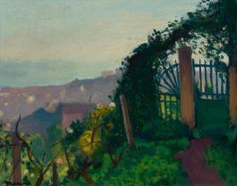 Albert Marquet-Le Portail Dans La Verdure-1944