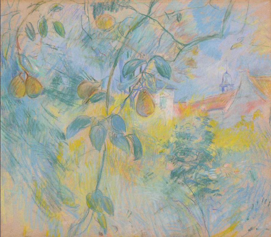 Berthe Morisot-Les Poires-1891