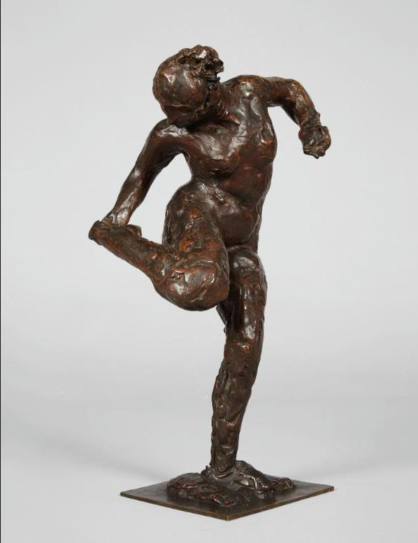 Edgar Degas-Danseuse Regardant La Plante De Son Pied Droit (Deuxieme Etude)-1895