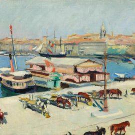 Charles Camoin-Le Vieux Port Aux Charettes-1906