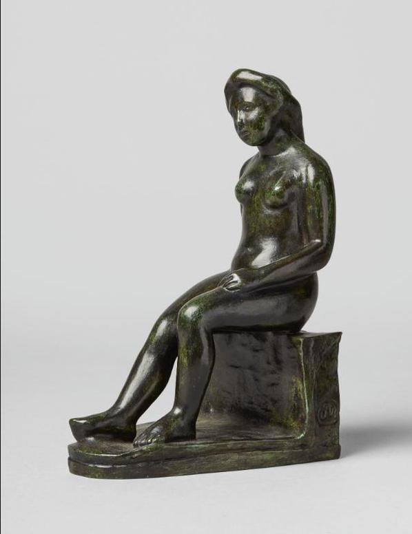 Aristide Maillol-Baigneuse Renoir-1907