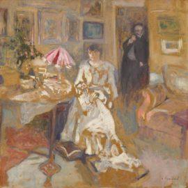 Edouard Vuillard-Monsieur Et Madame Jos Hessel, Rue De Rivoli-1904