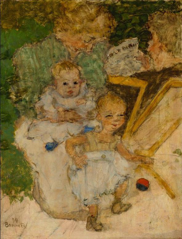 Pierre Bonnard-Les Mamans (La Famille Cottet)-1894