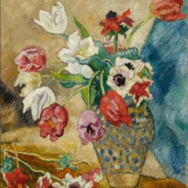 Louis Valtat-Tulipes Et Anemones-1920