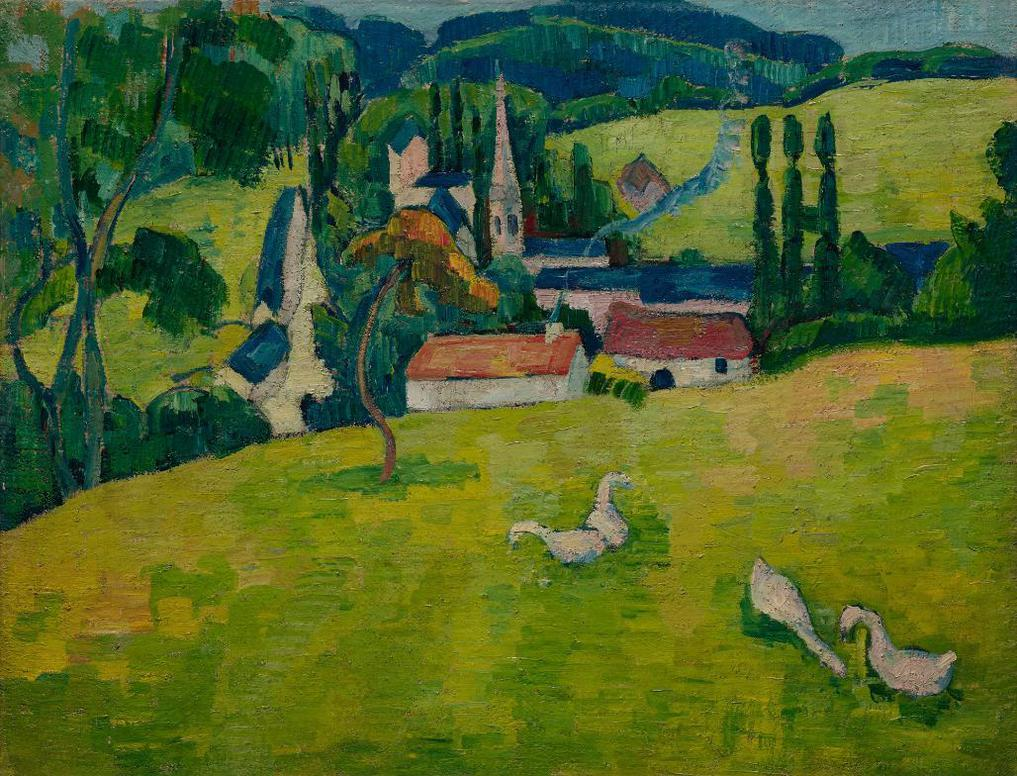 Emile Bernard-Pont-Aven, Le Pouldu-1889