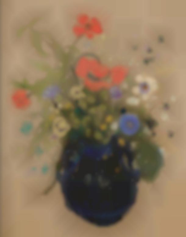 Odilon Redon-Vase De Fleurs-1908