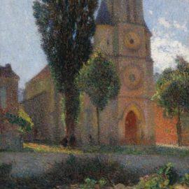 Henri Martin-Leglise De Labastide-Du-Vert, Un Matin Dete-1898