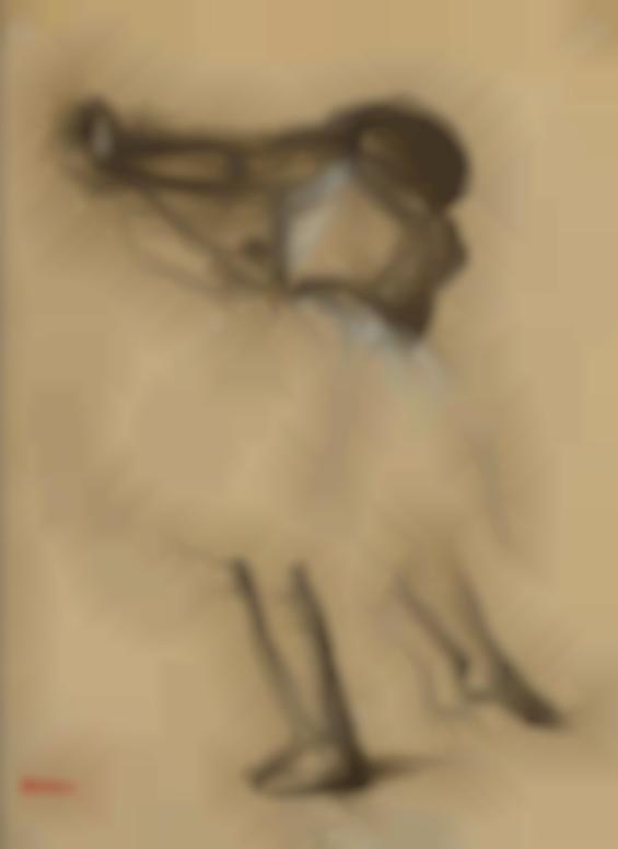 Edgar Degas-Danseuse Vue De Dos-