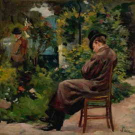 Maximilien Luce-Jardin A Montrouge-1876