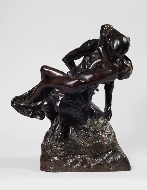 Auguste Rodin-La Jeunesse Triomphante Dite Aussi Baiser De Laieule-1895