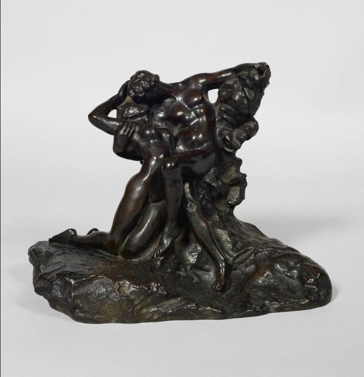 Auguste Rodin-Leternel Printemps, Second Etat, 4Eme Reduction, Dite Aussi No. 2-1894