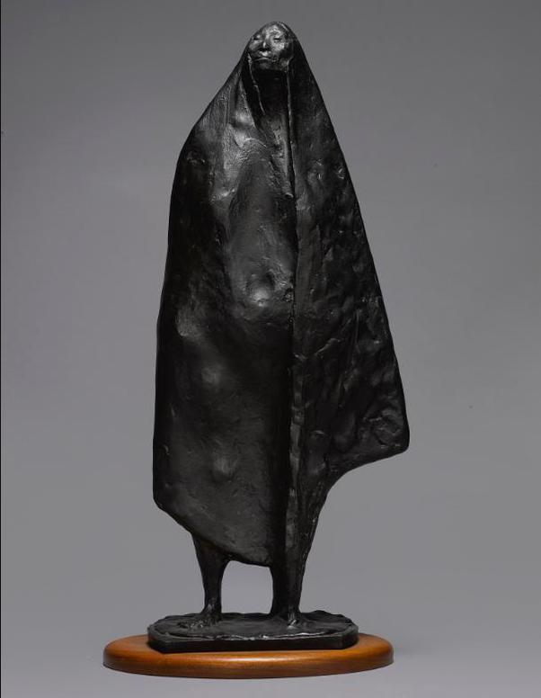 Francisco Zuniga-Mujer De Pie Con Rebozo-1970