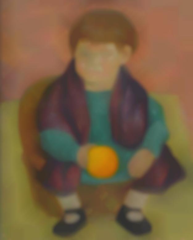 Diego Rivera-Retrato De Guadalupe Pico Rivera Marin-1926