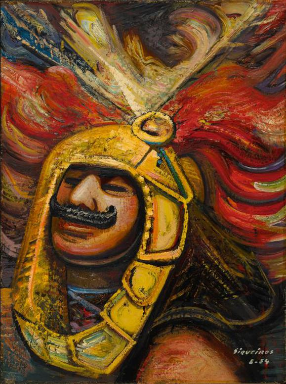 David Alfaro Siqueiros-Conquistador-1954
