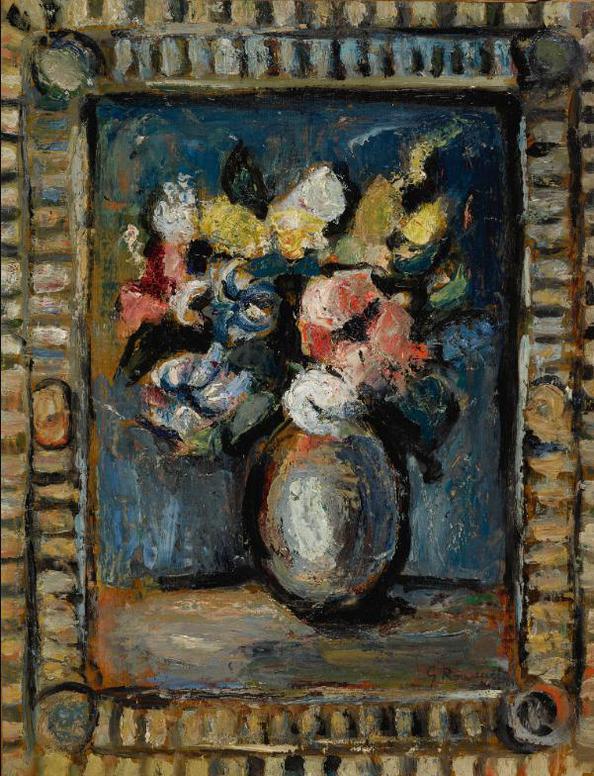 Georges Rouault-Fleurs Decoratives-1939